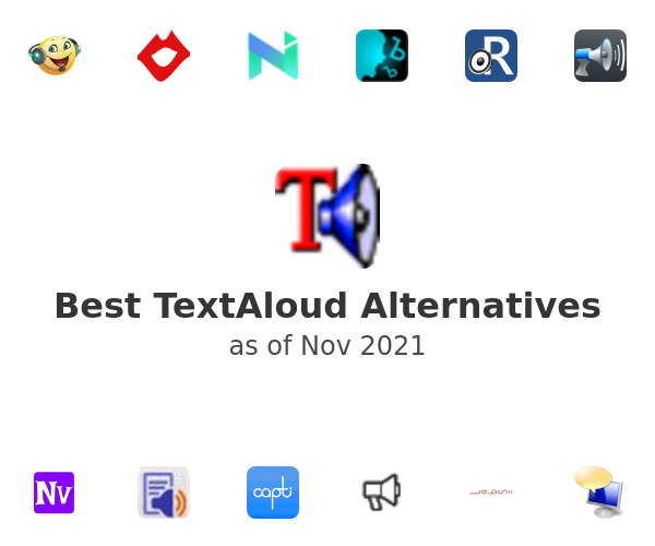 Best TextAloud Alternatives