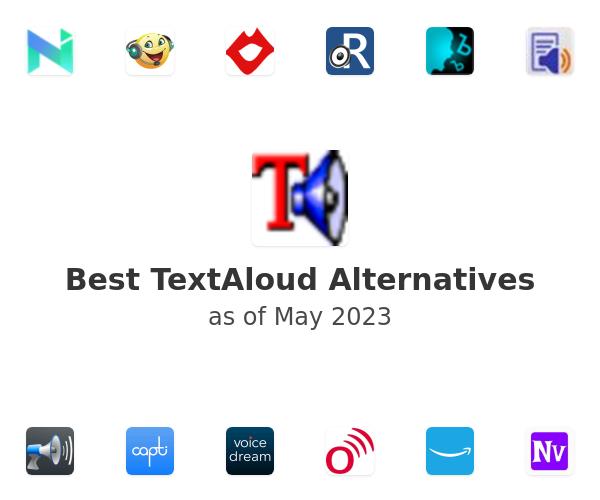 Best TextAloud Alternatives