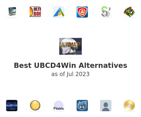 Best UBCD4Win Alternatives