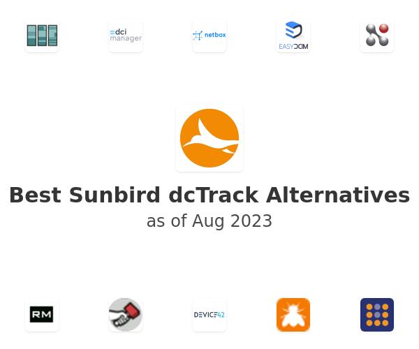 Best Sunbird dcTrack Alternatives