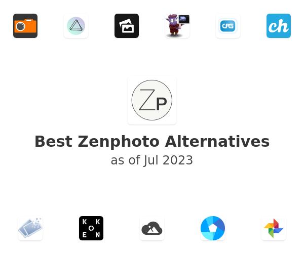 Best Zenphoto Alternatives