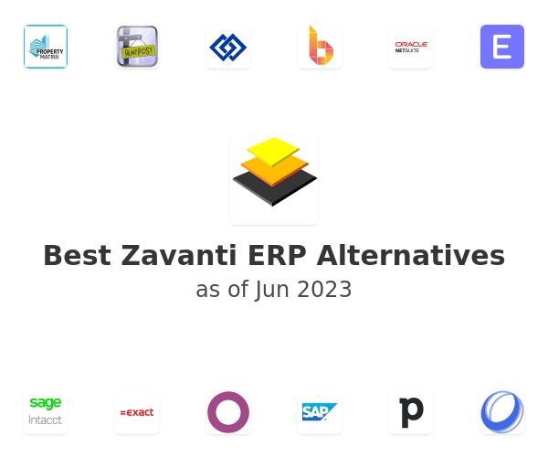 Best Zavanti ERP Alternatives