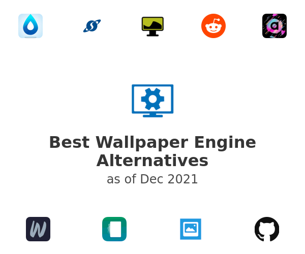 Best Wallpaper Engine Alternatives
