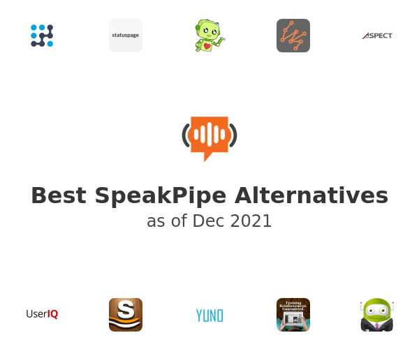 Best SpeakPipe Alternatives