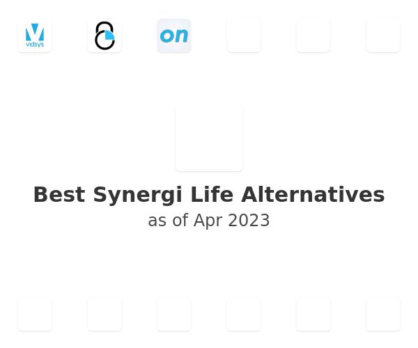 Best Synergi Life Alternatives