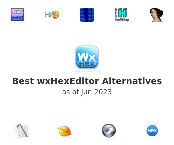 Best wxHexEditor Alternatives