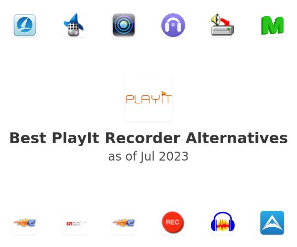 Best PlayIt Recorder Alternatives