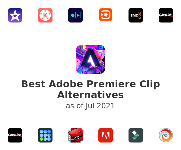 Best Adobe Premiere Clip Alternatives