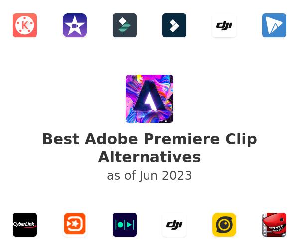Best Adobe Premiere Clip Alternatives