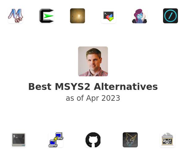 Best MSYS2 Alternatives