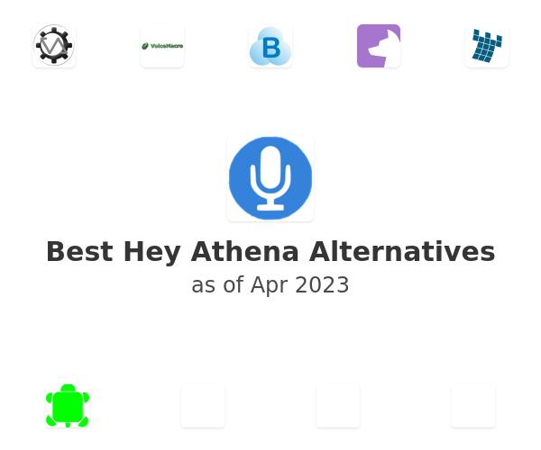 Best Hey Athena Alternatives
