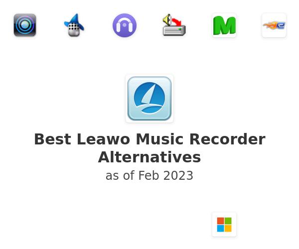 Best Leawo Music Recorder Alternatives