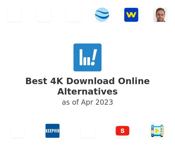 Best 4K Download Online Alternatives