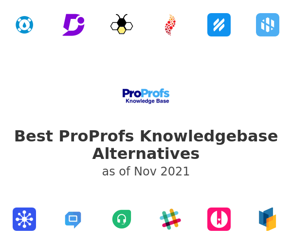 Best ProProfs Knowledgebase Alternatives