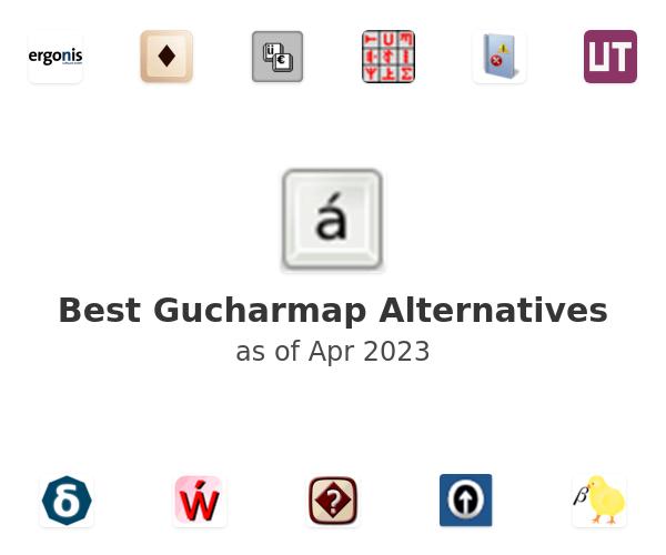 Best Gucharmap Alternatives
