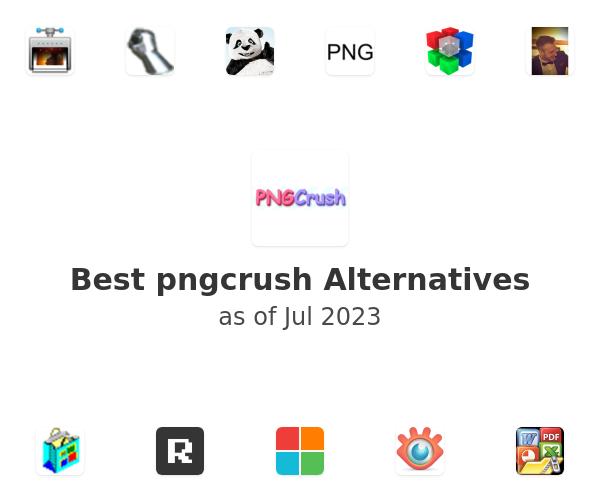 Best pngcrush Alternatives