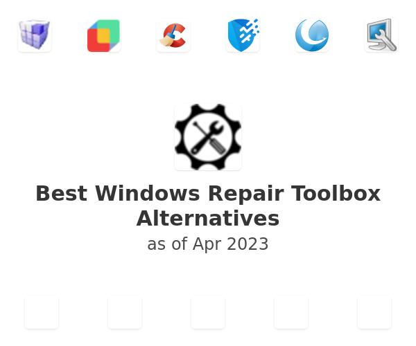 Best Windows Repair Toolbox Alternatives