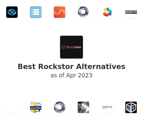 Best Rockstor Alternatives