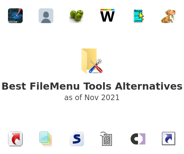 Best FileMenu Tools Alternatives