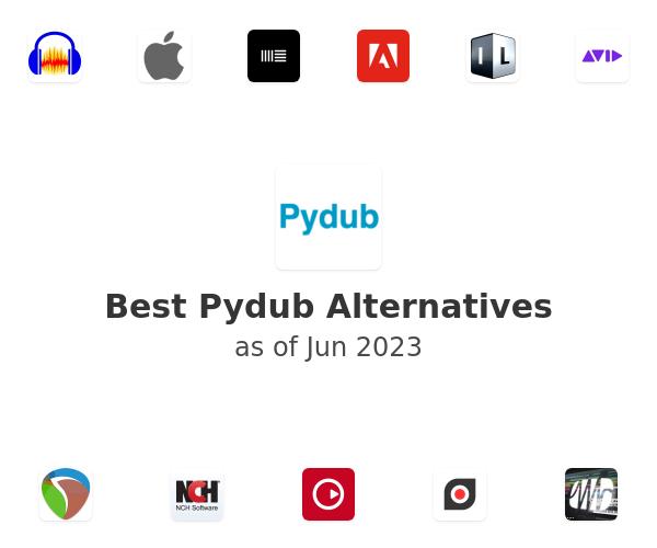 Best Pydub Alternatives