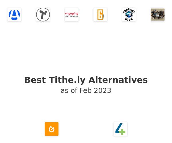 Best Tithe.ly Alternatives