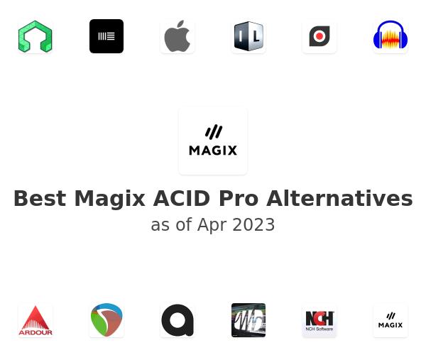 Best Magix ACID Pro Alternatives