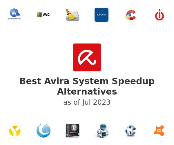 Best Avira System Speedup Alternatives