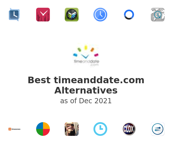 Best timeanddate.com Alternatives