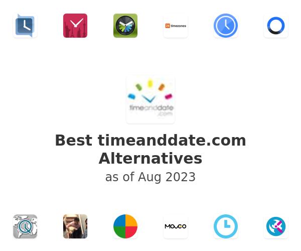 Best timeanddate.com Alternatives