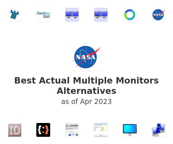 Best Actual Multiple Monitors Alternatives