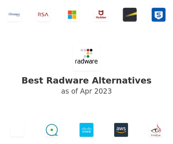 Best Radware Alternatives