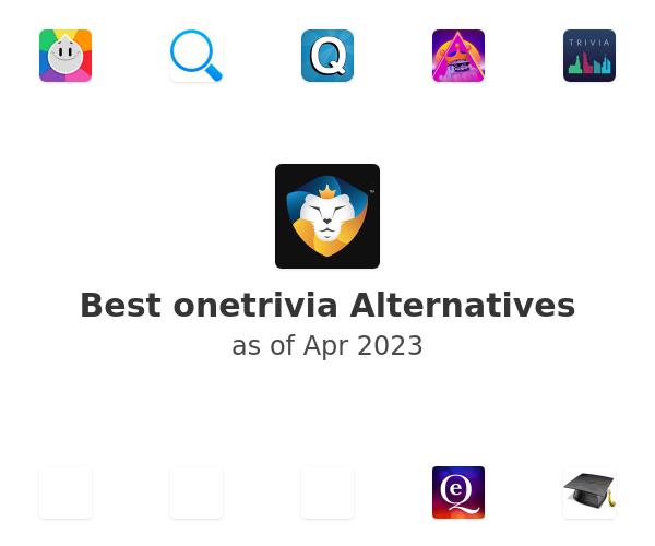 Best onetrivia Alternatives