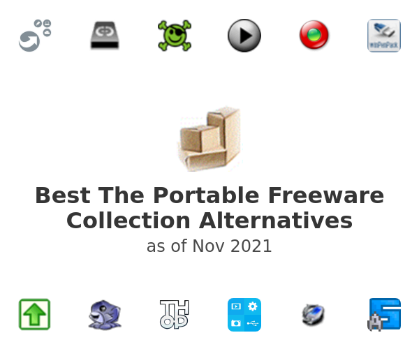 Best The Portable Freeware Collection Alternatives