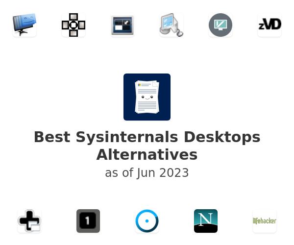 Best Sysinternals Desktops Alternatives