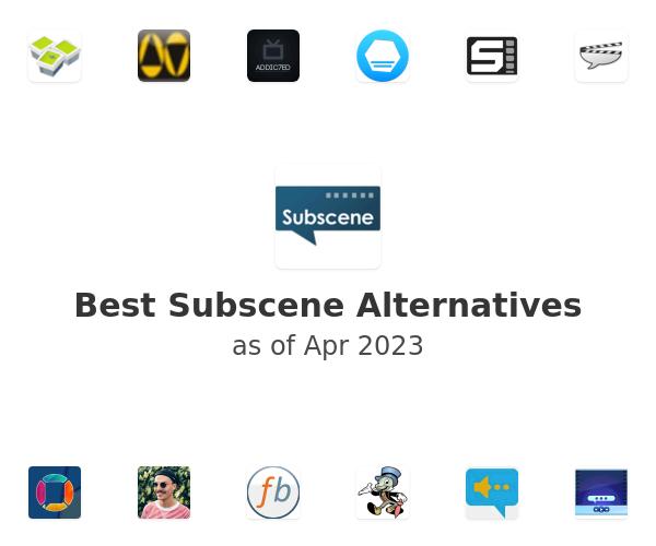 Best Subscene Alternatives