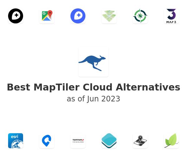 Best MapTiler Cloud Alternatives