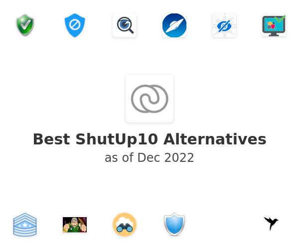 Best ShutUp10 Alternatives