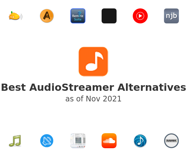 Best AudioStreamer Alternatives
