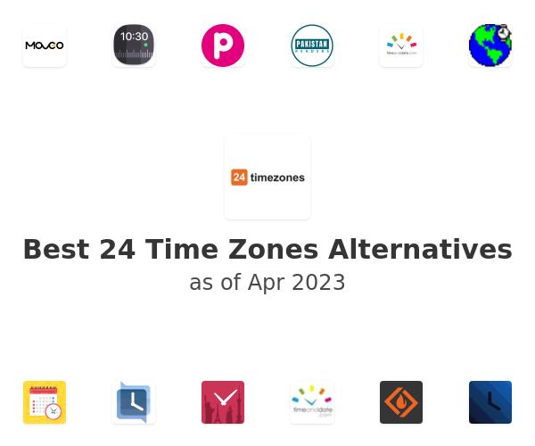 Best 24 Time Zones Alternatives