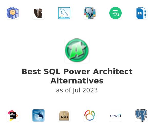 Best SQL Power Architect Alternatives