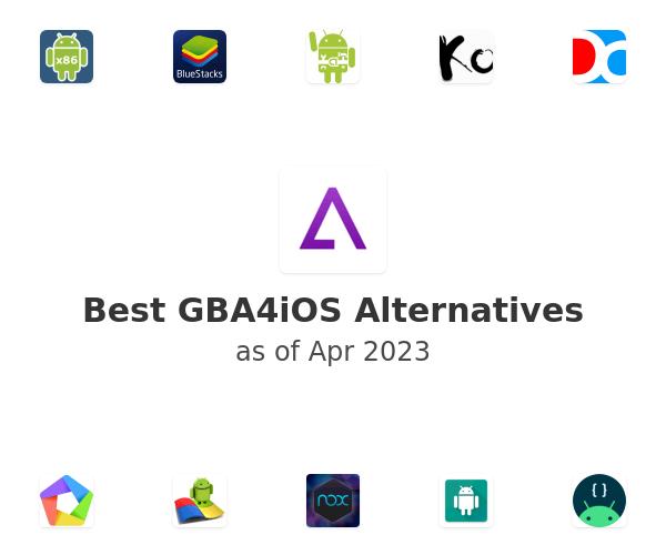 Best GBA4iOS Alternatives