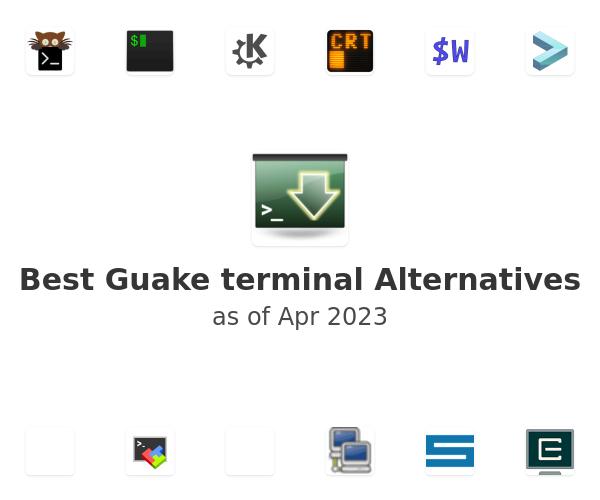 Best Guake terminal Alternatives