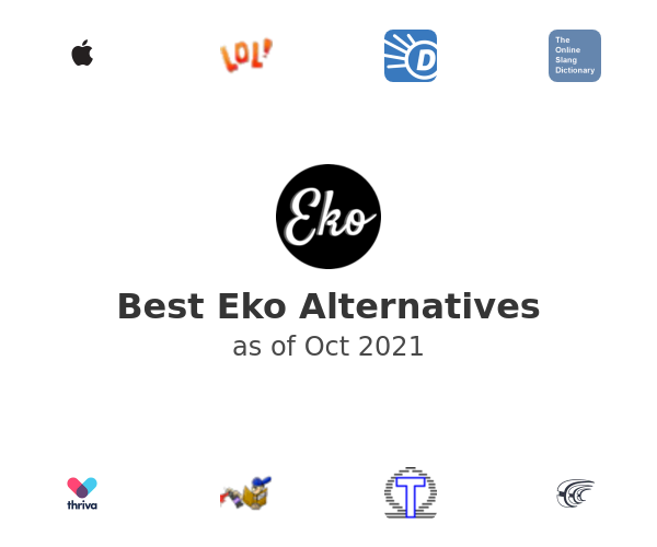 Best Eko Alternatives