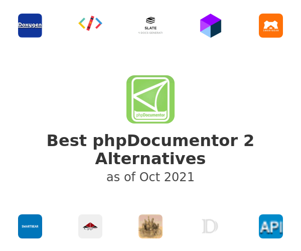 Best phpDocumentor 2 Alternatives
