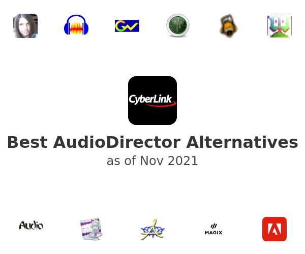Best AudioDirector Alternatives