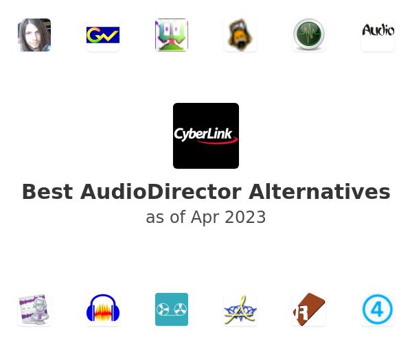 Best AudioDirector Alternatives