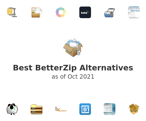 Best BetterZip Alternatives