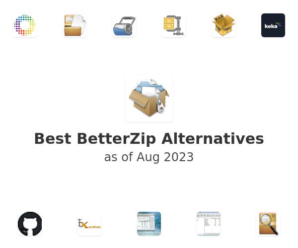Best BetterZip Alternatives