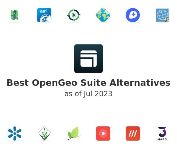 Best OpenGeo Suite Alternatives