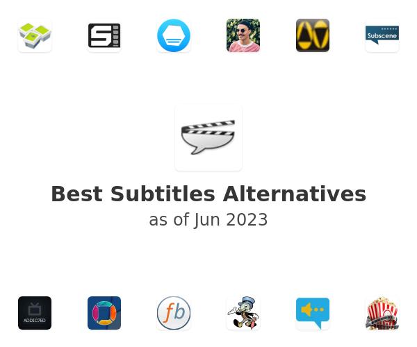 Best Subtitles Alternatives